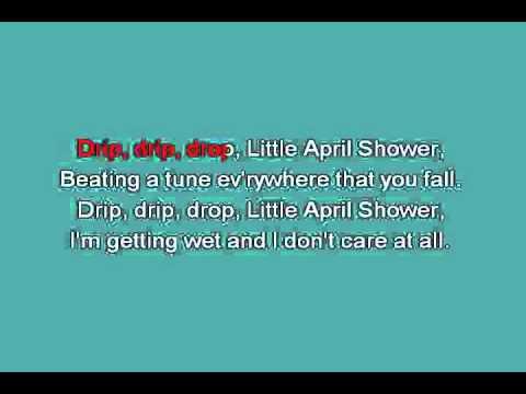 Bambi   Little april shower [karaoke]