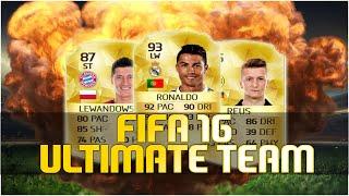 Fifa 16 Ultimate Team [#01] - PREMIEROWY SKŁAD BBVA!