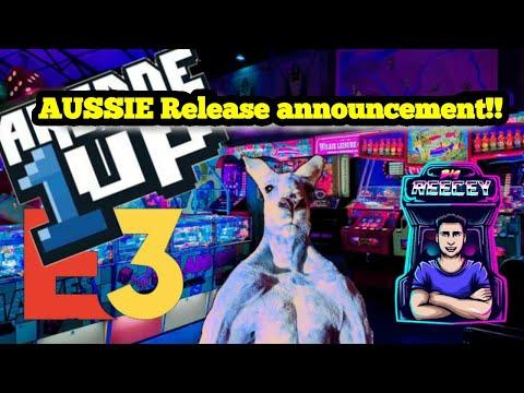 Australian Arcade1up Release Announcement 2021!!! from Big Reecey