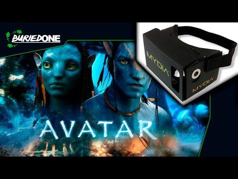 VR Google Carboard - Avatar 3D 1080P