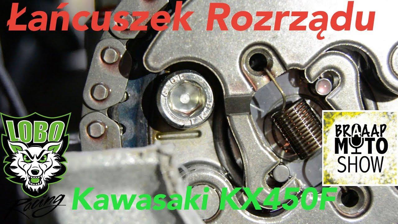 Wymiana Lancuszka Rozrzadu Kawasaki Kx450f Bmsvideo Cam Chain