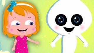 Скачать Озорной призрак Мультфильм для детей Образовательное видео Funny Cartoon Naughty Ghost