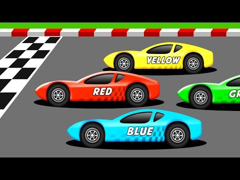 Thumbnail: Learn the Colors with Racing Cars