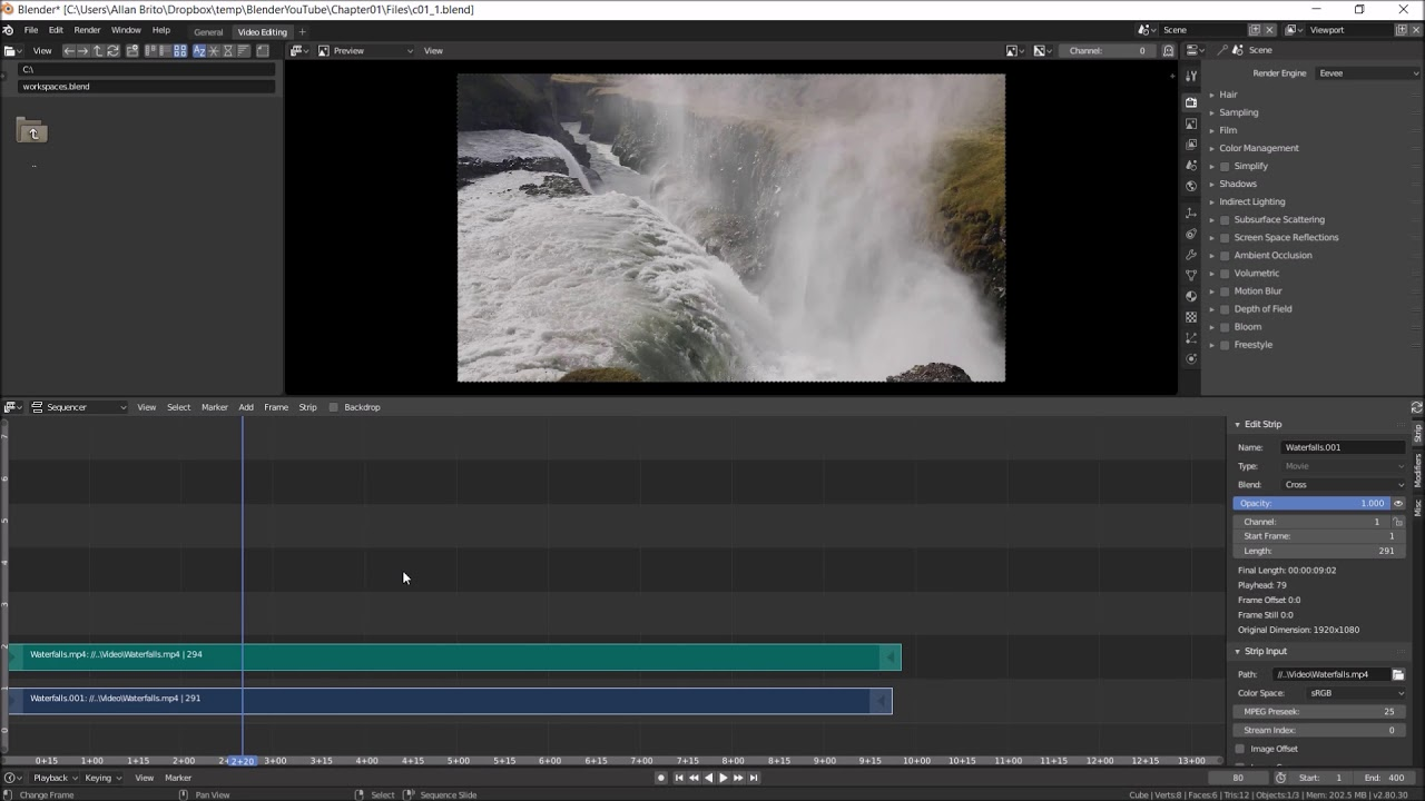 Blender for Video Production Quick Start Guide | 1  Blender as a Video  Editor for YouTube