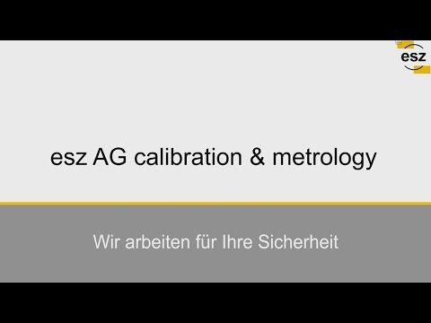 esz AG calibration