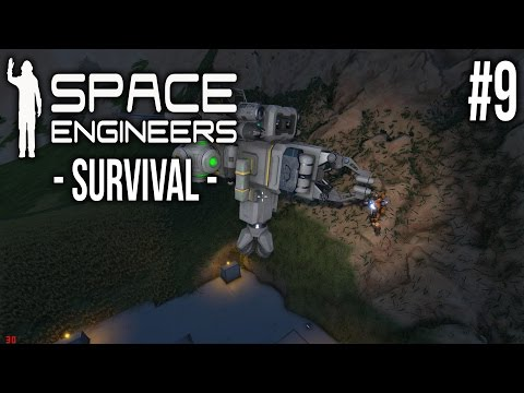 Space Engineers - SURVIVAL Ep 9  - Base Upgrades!