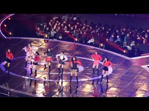 181225 sbs 가요대전 트와이스(twice) 댄브 + dance the night away