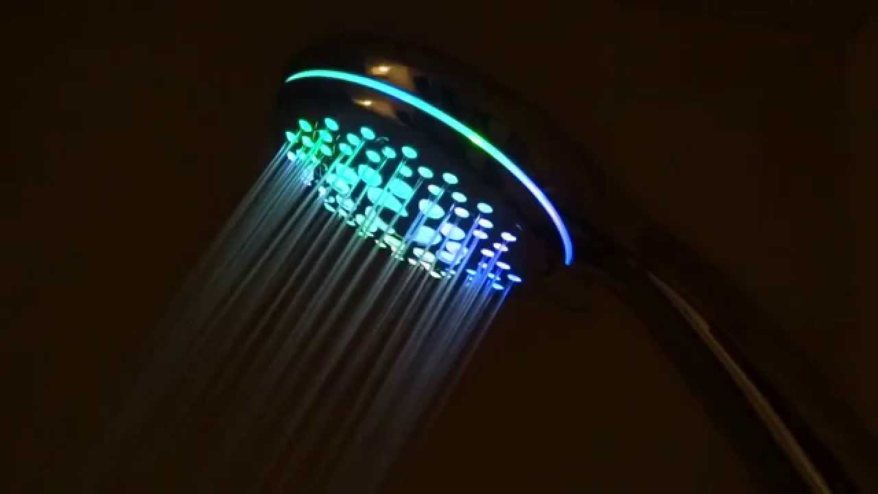 Hotelspa Spectrum Ultra Luxury Led Hand Shower Head Youtube