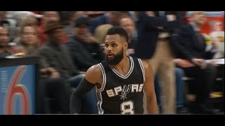 Patty Mills with back-to-back plays turning defense into offense