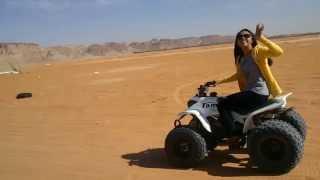 Red Sand Riyadh KSA with Pawie & Agot