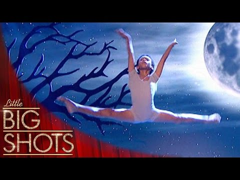 His ballet performance is a show-stopper! | Little Big Shots