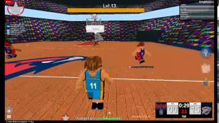Roblox Basketball Gameplay (Level Up)
