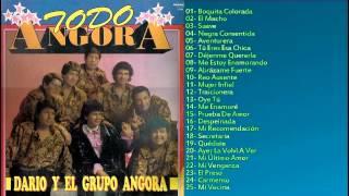 CUMBIA DEL RECUERDO ENGANCHADO 25 EXITOS DARIO Y EL GRUPO ANGORA