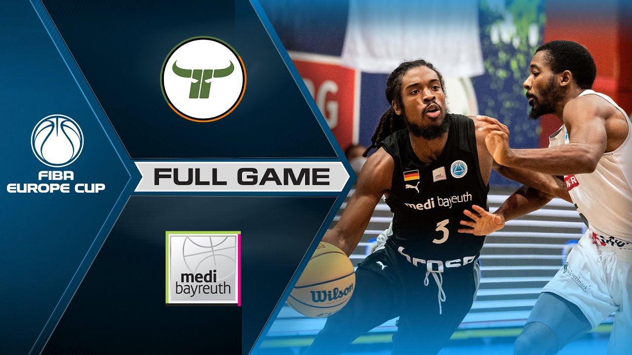 Kapfenberg Bulls v medi Bayreuth | Full Game - FIBA Europe Cup 2021-22