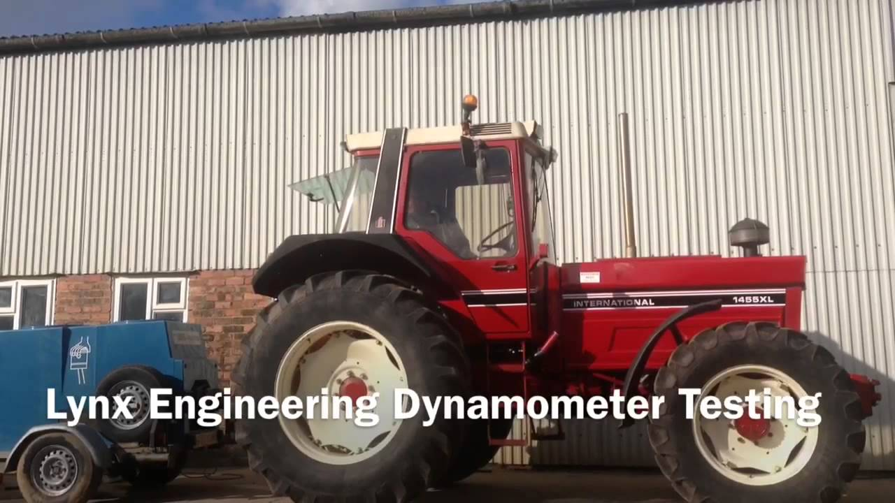 Dyno For Tractors : Ih xl tractor cultivating stuck dynamometer