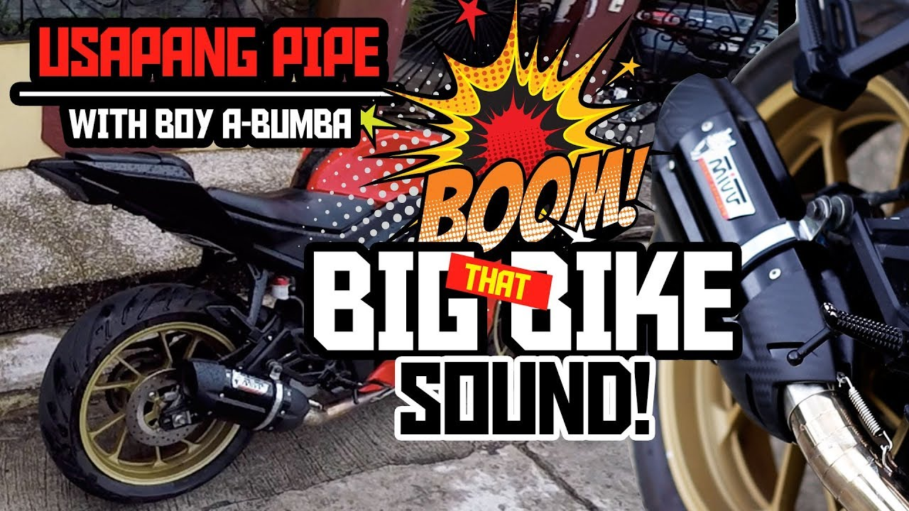 that big bike sound x mivv suono italy x usapang pipe x r15v3 aftermarket exhaust x icmvlog 023