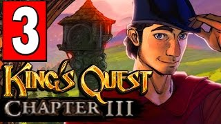 Kings Quest Chapter 3 Once Upon a Climb Part 3 EXPLORE THE TOWER / TOOL FIX CRACKED LUTE