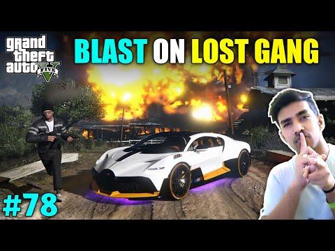 WE DESTROYED LOST GANG BASE | GTA V GAMEPLAY #78