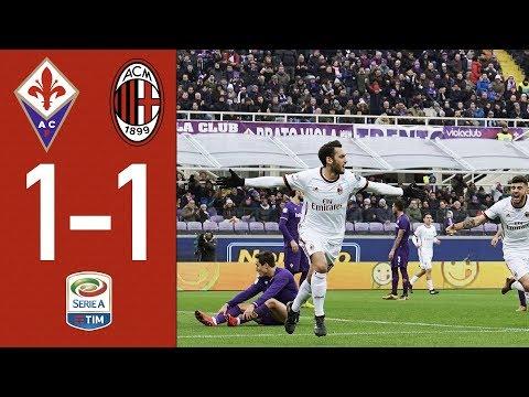 Highlights - Fiorentina 1-1 AC Milan - Serie A 2017/18