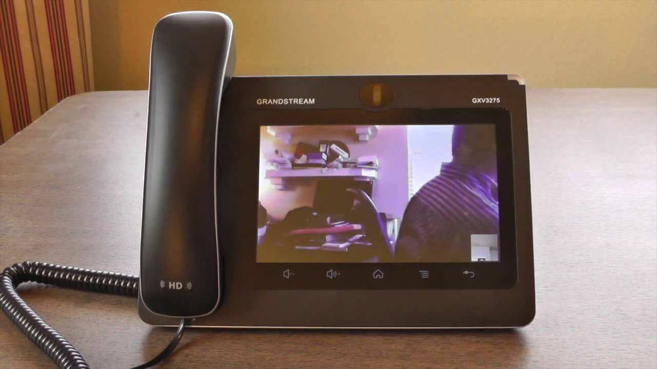 Grandstream GXV3275 Multimedia IP Phone for Android VoIP and Device Review