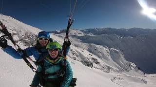 Gambar cover Winter-Himmelsritt - Gleitschirmfliegen Allgäu mit Himmelsritt