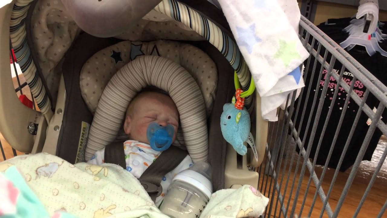 Reborn Baby Outing To Walmart With Quot Ember Quot Shopping For