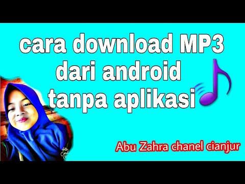 cara download MP3 dari android tanpa aplikasi