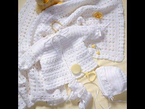 Crochet Along Cal Baby Layette Set Video 1 Yolanda Soto