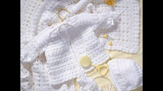 Crochet Along (CAL) - Baby Layette Set  (Video 1) - Yolanda Soto Lopez