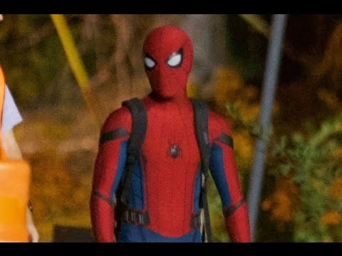 how to choose variety styles of 2019 top-rated cheap More Spider-Man Homecoming Set Photos Feature Spider-Man and His Backpack