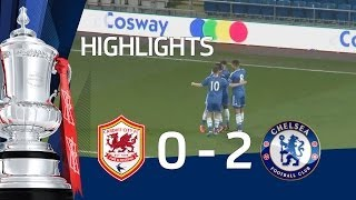 Cardiff City vs Chelsea 0-2, goals from Solanke and Kiwomya- FAYC 5 goals & highlights