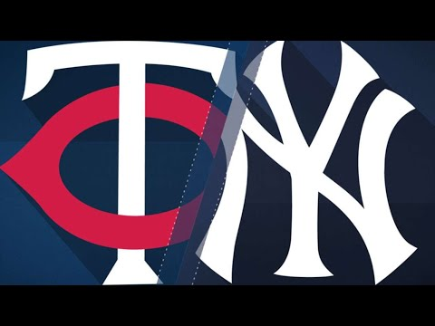 Yanks hit three homers and beat Twins, 11-3: 9/20/17