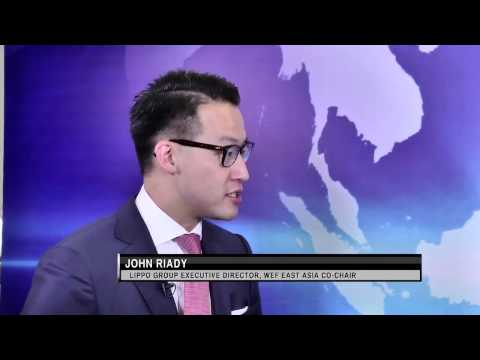 World Economic Forum: Lippo Group's John Riady on Rebuilding Trust in Asean (Part 1 of 3)