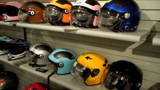 Countyimports.com - VCAN Full Helmet Display and Lineup - Very Helpful