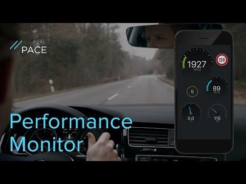 Performance Monitor von PACE | Erstelle dein individuelles Dashboard in der App!