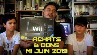 (EP80) Encore 2 consoles en boîte - Achats & Dons de mi-juin 2019