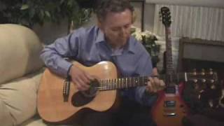 God Bless America acoustic guitar