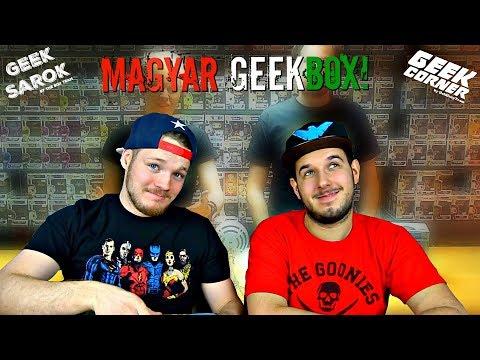 Első Magyar GeekBox! - GeekCorner Mystery Box Bontás