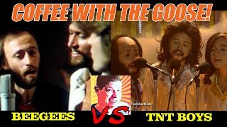 TNT Boys vs The Bee Gees (Mashup)! Who will win? World's Best CBS TV