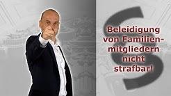 Beleidigungen in Familien-WhatsApp-Gruppe nicht strafbar!   Rechtsanwalt Alexander Bredereck