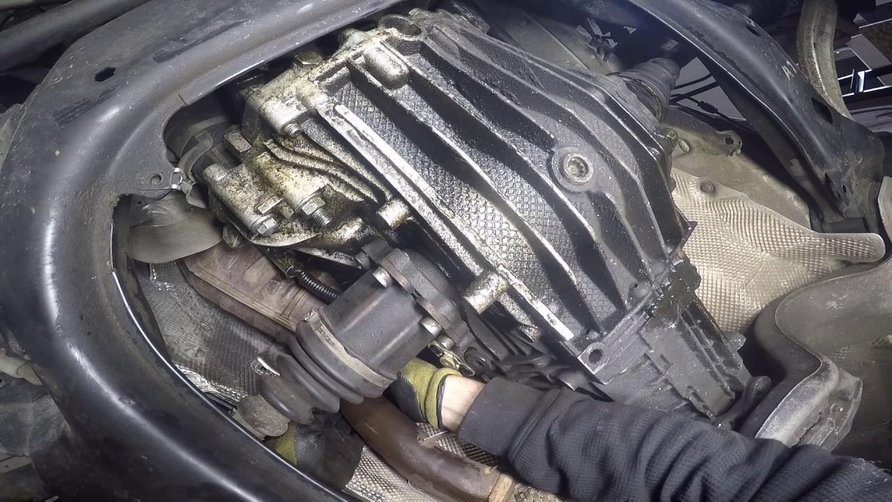 Audi A4 18t 2002 B6 Clutch Removal Youtube