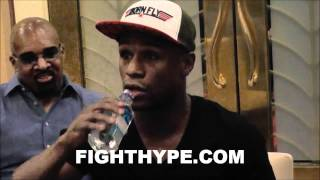 MAYWEATHER DISCUSSES TURNING PRO AND SPARRING PERNELL WHITAKER