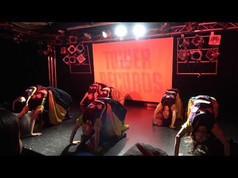 20171121 GANG PARADE(ギャンパレ) takes themselves higher!! インスト in タワレコ渋谷 CUTUP STUDIO