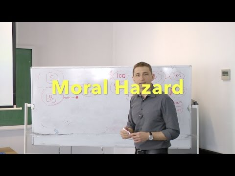 6. Moral Hazard. Adverse Selection. Too big to fail. Asymmetric information