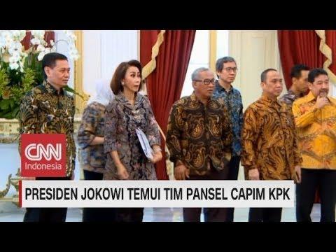 Tim Pansel Capim KPK Temui Presiden Jokowi