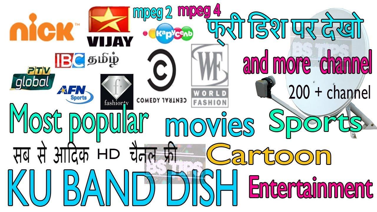 Dish setting Eutelsat 9 E on Free Dish Set Top Box DTH