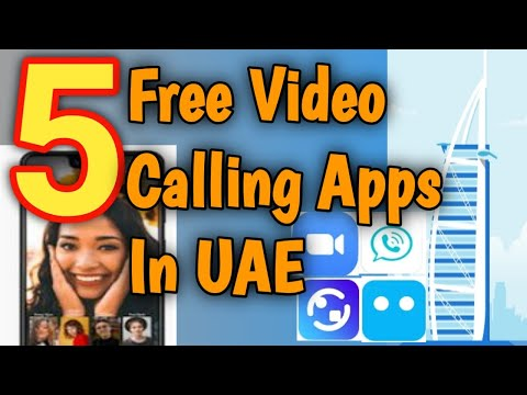 Free video calling apps in Dubai and UAE