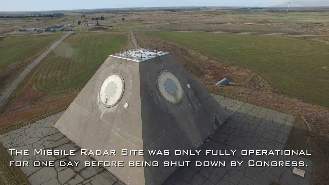 Missile Site Radar Pyramid in Nekoma North Dakota