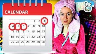 видео Менструальный календарь (женский календарь) онлайн бесплатно