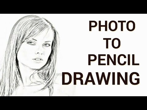How to Convert a Photo to a Pencil Drawing in Adobe Photoshop